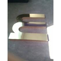 Letras De Trovicel Con Aluminio 15 Cm Alto Mas Acabados