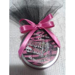 Lembrança Monster High Latinha Mint To Be Kit C/20
