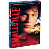 Smallville 2ª Temporada - Box Com 6 Dvds - Lacrado