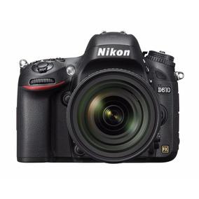 Camera Nikon D610+lente 24-85mm+32gb+bolsa