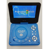 Dvd Portatil 9.8 Evd Divx Mp4 Svcd Vcd Cd Discos Mp3