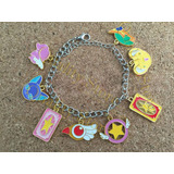 Pulsera Multidijes Sakura Card Captors Kero Spinel Lee Carta