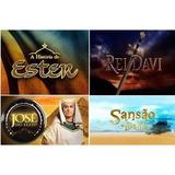 Rei Davi Historia Ester Sansão Dalila José Do Egito 14 Dvd