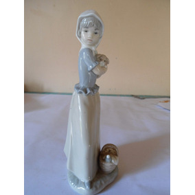 Figura De Porcelana Nao Made In Spain