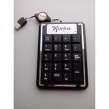 Teclado Numerico Usb Unitec Portable Para Portatiles