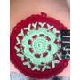 Posa Pava Y Agarradera Al Crochet, Ultima Moda,multicolores.