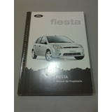 Libro Manual 100% Original De Usuario: Ford Fiesta 2003/04
