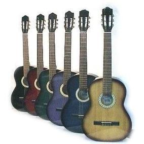 Guitarra Criolla Cielito Modelo N°4 Color ( Tamaño Niño )