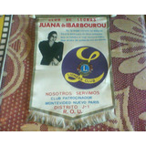 Banderin Club De Leones Juana De Ibarbourou