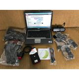Scanner Delphi Diesel-gasolina Multimarca+21 Cables Y Laptop