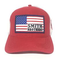 Boné Smith Brothers Usa Vermelho\branco