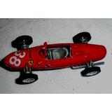 Auto Carrera 1961 Ferrari -f-1-coleccion -maqueta-