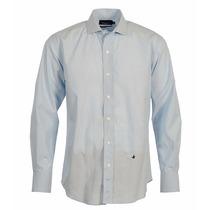 Camisa Brooksfield Hombre Algodón Tramada Elegante Sport