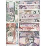Grán Colección 13 Billetes Antiguos De Colombia Nuevos!!!!!