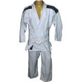 Kimono Judô Infantil Branco - Tamanho M2 - 07 A 08 Anos