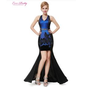 Vestido Elegante Para Fiesta Noche Dama Diseño Unico