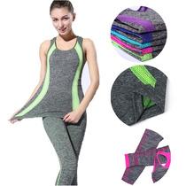 Conjunto Deportivo Fitnes Yoga 2pz
