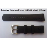 Pulseira Relogio Nautica Original N14536 N14537 N14524 Preta