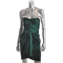 Vestido Corto Xs Fiesta Cocktail Matrimonio Verde Aqua