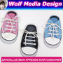 Zapatillas Iman Para Aprender Atarse Los Cordones Souvenirs