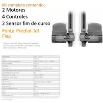 Kit 2 Motores Portão Automático Basculante Penta Jetflex Ppa