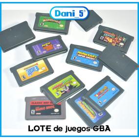 Lote Juegos De Gba,mario,metroid,los Mejores Títulos C/u A:
