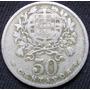 Portugal 50 Centavos Año 1927 Km# 577 Moneda De Cuproníquel
