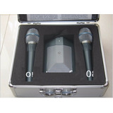 Kit Microfone Shure Dmk3 Com 2 Beta 87 E 1 Beta 91
