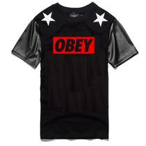 Camisa Obey Camiseta Bulls Raiders Ny La Patos Brooklyn Swag