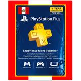 Playstation Psn Plus 12 Meses 1 Año Perú Ps4 Ps3- Scheda