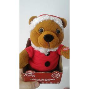 Urso De Natal Que Toca Música E Mexe
