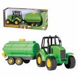 Trator De Brinquedo Com Tanque Para Água - Agromak