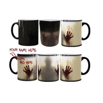 2 Tazas Magicas The Walking Dead Zombie, Regalos,