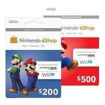 Tarjeta Wii U