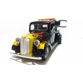 Miniatura Ford Pick - Up 1937 Motormax 1:24 Preta