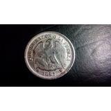 Moneda De Chile 1 Peso 1881 Replica