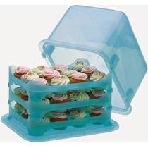 Porta Cupcakes Y Pasteles Para Eventos
