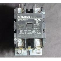 Contactor Propósito Definido Siemens 2p 40/50a Bob 24vca