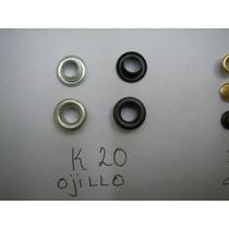 Un Millar De Ojillo Medidas K20 11z K19 Ideal Cortinas Bolsa