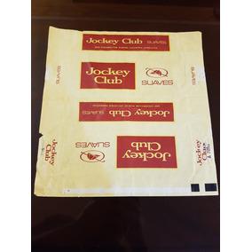 Envoltorio Cartón Cigarrillos Jockey Club Marquillas Austral