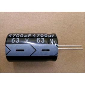 Capacitor Eletrolitico 4700uf X 63v 4.700uf 4700 Uf