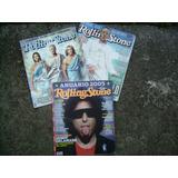 Rock Rolling Stones Tres Revistas