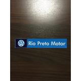 Adesivo Concessionária Autorizada Vw Rio Preto Motor Sjp Sp