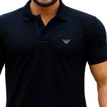 Camisa Polo Giorgio Armani Bordada - Dolce Gucci