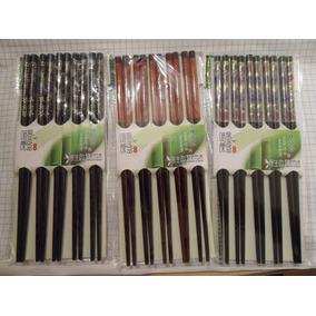 Weikang Madera Bamboo Paquete Palillos Chinos 5 Pares Envio