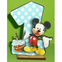 10 Souvenirs + Central Mickey Mouse Un Año