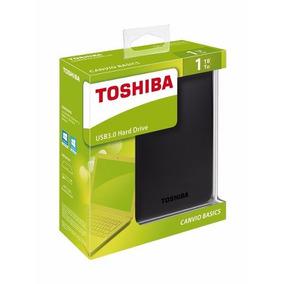 Disco Externo Toshiba Canvio 1tb Usb 3.0 Nuevos Somos Tienda