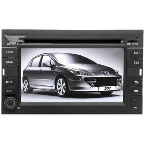 Central Multimídia Dvd Peugeot 307 / 407 Original Completa