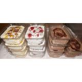 Bandejas De Torta Frías Para Refrigerios Y Reuniones