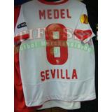 Camiseta Medel Oficial Europa League Sevilla, Tienda Tifossi
